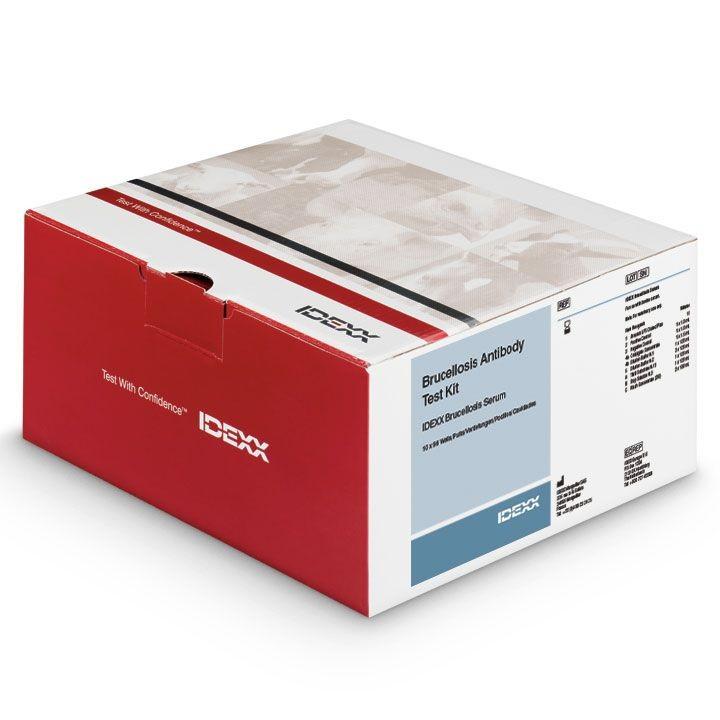 Kit de diagnostic veterinar pentru detectia anticorpilor anti brucella abortus, brucella melitensis